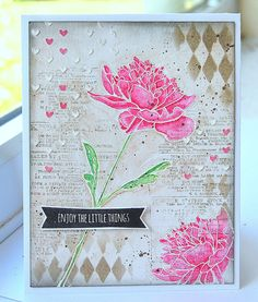 Kath's Blog......diary of the everyday life of a crafter: Enjoy The Little Things...