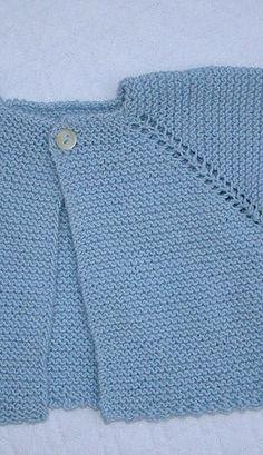 Com - Diy Crafts - Hadido - Diy Crafts Diy Crochet Cardigan, Knitted Baby Cardigan, Toddler Sweater, Easy Scarf Knitting Patterns, Baby Booties Knitting Pattern, Baby Sweaters, Girls Sweaters, Brei Baby, Crochet Baby