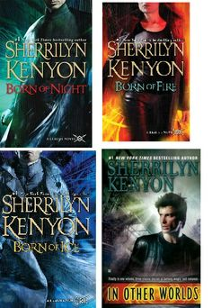 4 Books by author Sherrilyn Kenyon, The League Series on sale