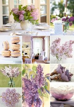 Lilac - Bridal shower look