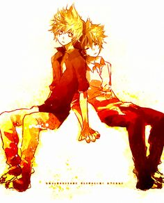 Kingdom Hearts. Sora and Roxas!! I wish they could exist at the same time