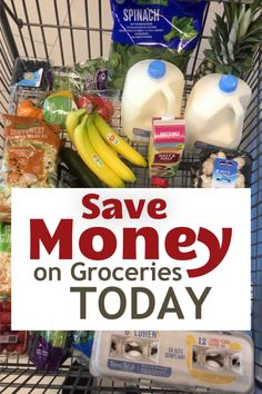Wondering how you can save money on groceries? Consider these ten simple steps you can take to lower your grocery bill and still eat well. Save Money On Groceries, Good And Cheap, Food Waste, Shopping Hacks, Money Saving Tips, Eating Well, Cocktail Recipes, Crockpot Recipes, Great Recipes