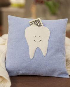 Almofada para a Fada do Dente