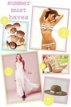 summer style must-haves