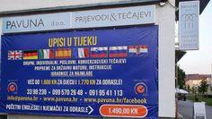 Upisi u tijeku! Tečajevi stranih jezika PAVUNA! 099 570 26 48