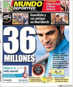 36 millones por Cesc