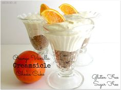 Orange Vanilla Creamsicle  Cheesecake