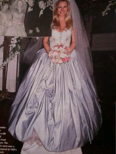 Y and R Christine in her weding dress 2 wed Paul #1