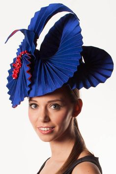 Origami Millinery Deluxe Course - Creative Origami Methods For Your #Millinery. #hatacademy
