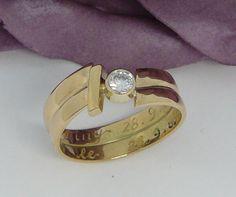 Portfolio trouwringen vermaken - Sieraden atelier Eveline Sparkly Jewelry, Gemstone Jewelry, Jewelry Rings, Silver Jewelry, Jewellery, Ring Bracelet, Ring Necklace, Diamond Rings, Diamond Jewelry