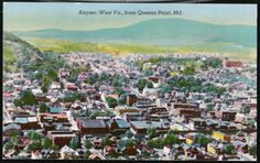 Mineral County, West Virginia Keyser postcard view from Maryland. West Va, West Virginia, Mountain States, Take Me Home, Maryland, Mineral, Dolores Park, Heaven, Country Roads