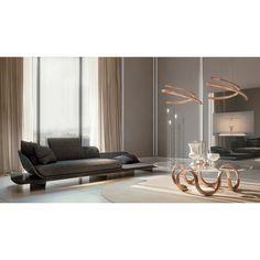 High-End Italian Segno Chaise Lounge - Italian Designer & Luxury Furniture at Cassoni Milan Furniture, Sofa Furniture, Living Room Lighting Design, Sofa Design, Interior Design, Luxury Italian Furniture, Luxury Sofa, Furniture Arrangement, House And Home Magazine