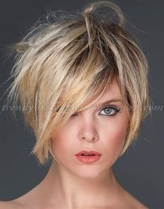 Image result for Short Shag Hairstyles for Grey Hair