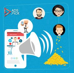 Refer AdsJack to your friends and earn Jackpoints.