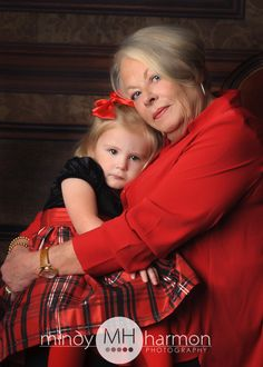 Grandma snuggles are the best!  Call the studio to book your session 281-296-2067 or online at mindyharmon.com #mhp #mindyharmon #thewoodlandsphotographer  #makingmemories #grandmother #grandchildren #holidayportraits