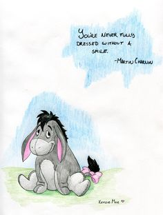 Eeyore by TheFrenchPopsicleTM on deviantART