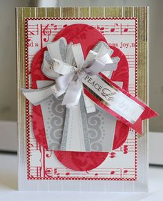 Anna Griffin Holiday Card Kit | cardmaking scrapbooking stamping christmas sewing