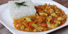 Recept na najlepšiu čínu - Tinkine recepty Family Meals, Thai Red Curry, Ethnic Recipes, Food, Essen, Meals, Yemek, Eten