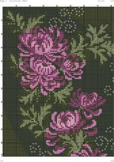 Just Cross Stitch, Cross Stitch Flowers, Ribbon Embroidery, Cross Stitch Embroidery, Stitch 2, Cross Stitch Designs, Cross Stitching, Handicraft, Needlepoint