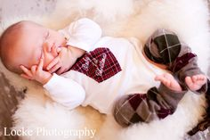 Christmas Card Picture Prop  Newborn Baby by ChicCoutureBoutique, $23.50