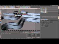 Cinema 4d: Cutting object into fragments - YouTube