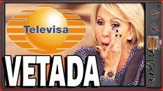 Laura Bozzo es VETADA de Televisa y ella quiere sacar los trapos sucios