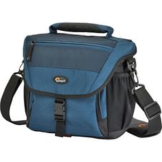 Lowepro Nova 170 AW Camera Bag (Ultramarine Blue) -- Check this awesome product by going to the link at the image. (This is an Amazon Affiliate link and I receive a commission for the sales)