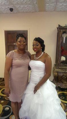 Bride & mother makeup