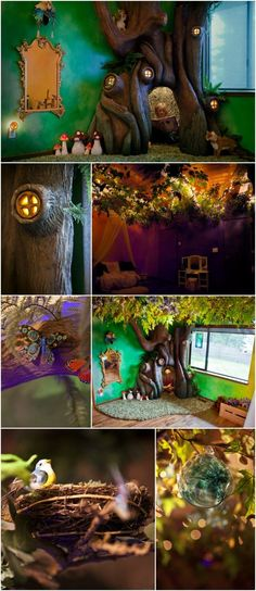 This has to be the coolest thing I have EVER seen in a child's bedroom!