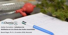 Formation - Distillation et chimie des huiles essentielles - 13 octobre 2018 Solution, Chemistry
