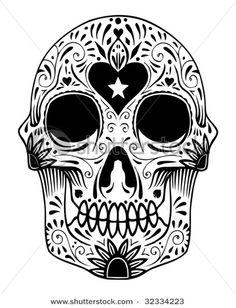 Tattos Tattos: sugar skull tattoo