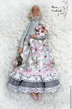 """Купить ТИЛЬДА """"Нежные ромашки"""" - тильда, кукла Тильда, ангел тильда, подарок"""