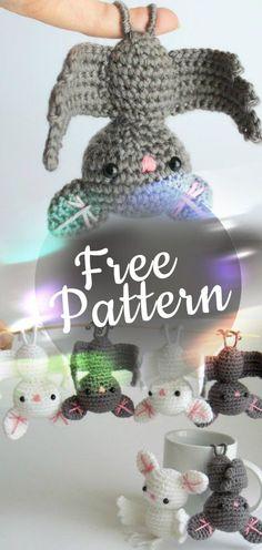 Amigurumi-Crochet-Bat #amigurumi