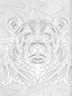 The Forest Adult Coloring Book Pg 36