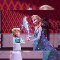 Princesa Disney Frozen, Disney Frozen Elsa, Disney Princess, Princess Anna, Deco Disney, Disney Art, Disney High, Elsa Y Jack Frost, Elsa Baby