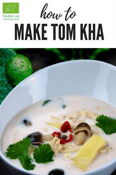 Biologische Tom Kha  Organic Curry Paste - Always care for you.Biologische Tom Kha Paste mit Kokos Creme und Kaffir LimettenblätternDiese klassische Kokos Cremesuppe erhält ihren reichen Geschmack von den typischen thailändischen Zutaten: Kokosmilch, Zitronengras, frischer Ingwer, Kaffir-Limettenblätter, Chilipaste und Koriander. Eines der beliebtesten thailändischen Gerichte.#Thaifood #TomKha #CurryPaste