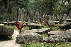 Stone Garden, Jaintia Hills. Meghalaya