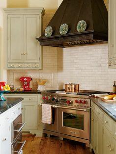 kinda like the way this stove is in corner - angled