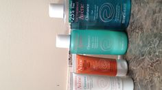 Avene - cleanance gel, toner, emulsion lotion and 40 SPF sun protection lotion for OILY BLEMISH PRONE skin. Cleared every pimple I had, decreased redness and matte-fied my skin all day. Available at Shoppers Drug Mart. Worth every single penny!!!!
