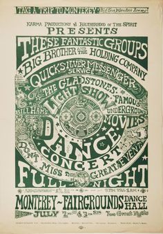 1966-Big Brother and the Holding Company poster.17
