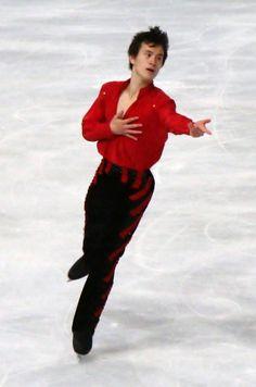 Patrick Chan  - Men's Figure Skating / Ice Skating dress inspiration for Sk8 Gr8 Designs.