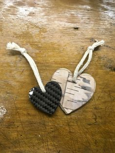 Wood-Carbon Heart #1 Holz-Carbon Herz #1 Dog Tags, Dog Tag Necklace, Heart, Wood, Diy, Jewelry, Jewlery, Woodwind Instrument, Bricolage