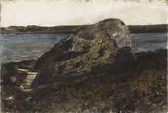Andrew Wyeth - Clam Basket, Broad Cove (1967)