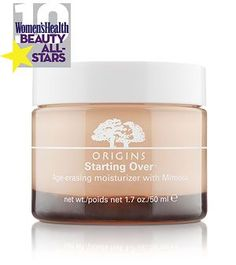 """I was 25 and seeing premature wrinkles all around my eyes. I've used Origins' """"Starting Over"""" moisturizing cream and """"Modern Friction"""" wash for two months, and my wrinkles are almost gone. I recommend this to anyone needing to erase a few years of stress!"""