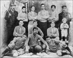 Esto es historico.  Primera foto de Boca Juniors.