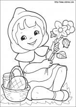 9 Little Red Riding Hood printable coloring pages for kids. Find on coloring-book thousands of coloring pages. Flower Coloring Sheets, Fall Coloring Pages, Coloring Sheets For Kids, Printable Coloring Pages, Free Coloring, Coloring Books, Art Disney, Disney Pixar, Tema Disney