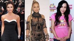 Victoria Beckham, Octomom, Beyoncé