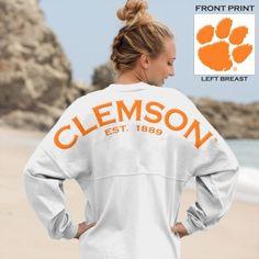 "Clemson University ""Clemson Est. 1889"" Spirit Jersey®"