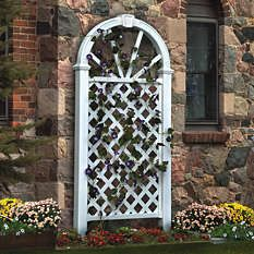 Arbors - Trellises - Garden Arches - Lattice Design - Grandin Road