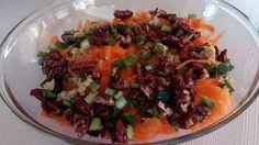 Салат из моркови и пекана